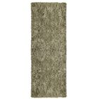 Soft Shag Taupe Area Rug Rug Size: Runner 2'6