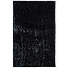Metro Silk Black Area Rug Rug Size: 9' x 12'