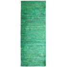 Sari Indian Hand-Woven Green Area Rug Rug Size: Runner 2' x 8'