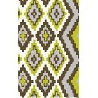 Alameda Hand woven Brown/Green Area Rug Rug Size: Runner 2'6