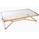 Mireille Acrylic Coffee Table