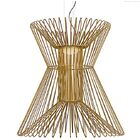 Penrod  LED  Pendant Shade Color: Satin Gold