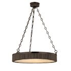Lynden Drum Pendant Size / Finish: 22