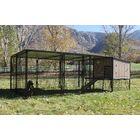 Belle Castle Run Metal Yard Kennel Size: 8' x 16'