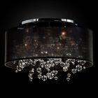 Winifred 5-Light Semi Flush Mount Shade Color: Black