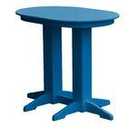 Rochester Bar Table Finish: Blue