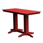 Newport Bar Table Finish: Red