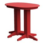 Rochester Bar Table Finish: Red