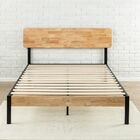 Ursula Metal/Wood Platform Bed Size: King