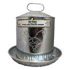 Nevin Metal Wall Chicken Water Fountain