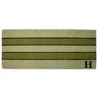 Heavy Duty Door Mat Letter: H