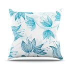 Biru Dream by Anchobee Throw Pillow Size: 26'' H x 26'' W x 1