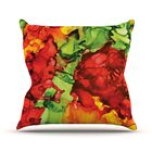 One Love by Claire Day Throw Pillow Size: 26'' H x 26'' W x 1