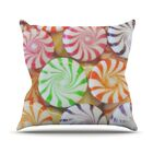 I Want Candy Throw Pillow Size: 26