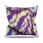 Tiger Love by Anne LaBrie Throw Pillow Size: 26'' H x 26'' W x 1
