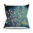 Monet's Dream Flower Throw Pillow Size: 26'' H x 26'' W x 1
