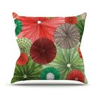 Christmas Remix by Heidi Jennings Holiday Throw Pillow Size: 26
