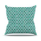 Distressed by Michelle Drew Throw Pillow Size: 26