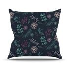 Flower III by Louise Throw Pillow Size: 26