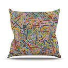 More Sprinkles Throw Pillow Size: 26