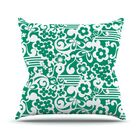 Esmerald Serenity Throw Pillow Size: 26