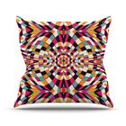 Rebel Ya Throw Pillow Size: 26