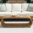 Tres Chic Teak Coffee Table