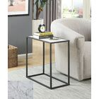 Roark End Table Color: Black