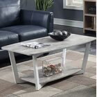 Anissa Coffee Table with Storage Finish: Gray/White