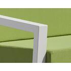 Vero 6 Piece Sunbrella Sofa Set with Cushions Fabric: Ginko, Color: Textured White