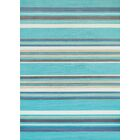 Island Breeze Windward Aqua Area Rug Rug Size: Rectangle 5'3