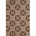 Maui Hand-Woven Chocolate Indoor/Outdoor Area Rug Rug Size: 7'10