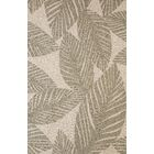 Palm Coast Hand-Woven Gray/Beige Indoor/Outdoor Area Rug Rug Size: 5' x 7'6