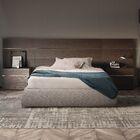 People Upholstered Platform Bed Size: Queen