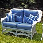 Princeton Deep Seating Loveseat with Cushions Fabric: Antique Beige