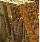 Camacho Chaise Lounge with Cushion Fabric: Sunbrella Foster Surfside, Finish: Natural