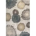 Timeless Silver Starburst Area Rug Rug Size: Rectangle 9' x 13'