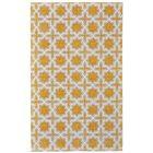 Paolucci Hand-Woven Lemon Area Rug Rug Size: Rectangle 8' x 10'