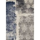 Mockingbird Impression Gray/Blue Area Rug Rug Size: Rectangle 5'3