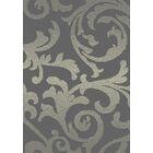 Brushwood Elegance Gray Area Rug Rug Size: Rectangle 5'3