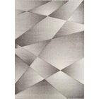 Zeta Ribbons Gray Area Rug Rug Size: Rectangle 5'3