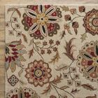 Jasmine Parchment Tufted Wool Area Rug Rug Size: Round 8'