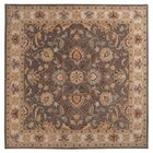 Arden Sage Hand-Woven Wool Area Rug Rug Size: Square 4'