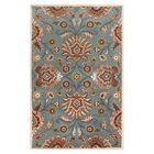 Phoebe Cove Blue Rug Rug Size: Round 6'