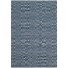 Kris Hand-Woven Navy Area Rug Rug Size: Rectangle 4' x 6'
