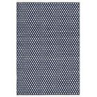 Ash Navy Area Rug Rug Size: Rectangle 6' x 9'