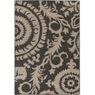 Hattie Pewter & Natural Indoor/Outdoor Rug Rug Size: Rectangle 5'3