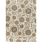 Jasmine Parchment & Moss Tufted Wool Area Rug Rug Size: Rectangle 9' x 12'