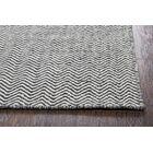 Ava Black Rug Rug Size: Rectangle 3' x 5'
