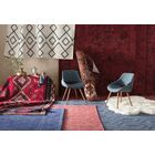 Dobson Hand-Tufted Blue Area Rug Rug Size: Rectangle 8' x 11'